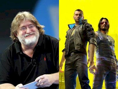 Gabe Newell Beri Komentarnya Terkait Kontroversi Game Cyberpunk 2077!