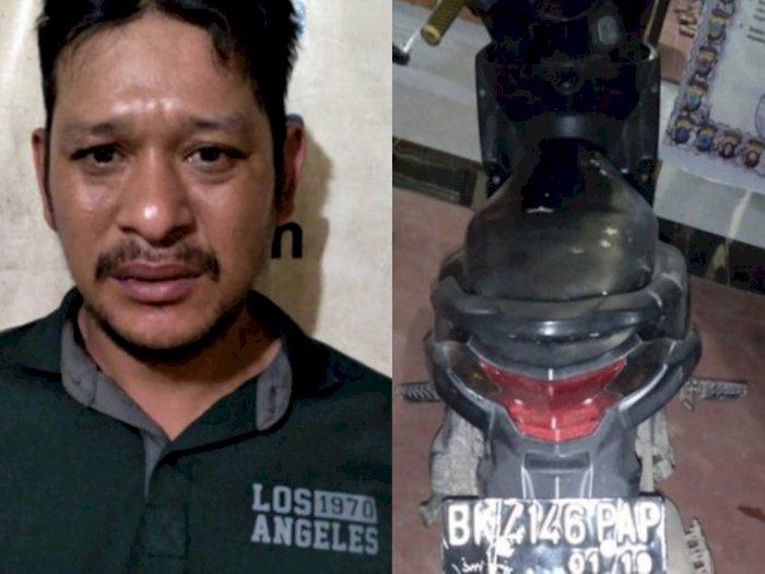 Kerap Palak Sopir Truk di Jalinsum, Pria di Langkat Diringkus Polisi
