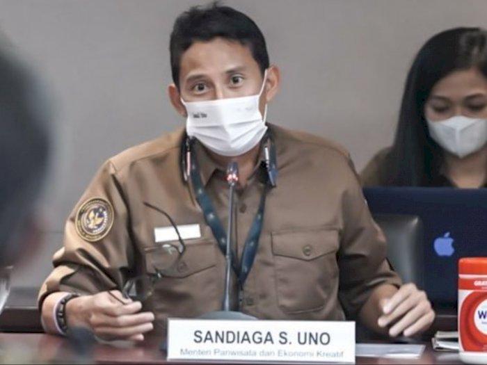 Demi Cegah Korupsi, Sandiaga Uno Minta KPK Awasi Program Kemenparekraf