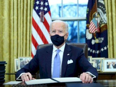 Resmi Jadi Presiden, Ini yang Joe Biden Katakan Saat Tiba di Gedung Putih