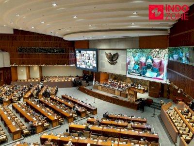 Rapat Paripurna Pengesahan Listyo Jadi Kapolri, 204 Anggota DPR Hadir Lewat Virtual