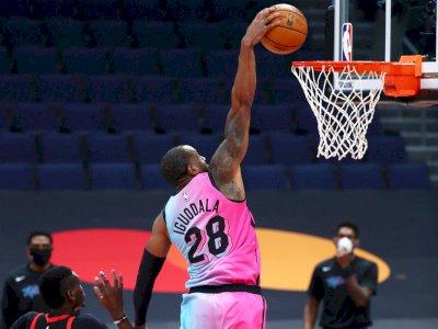 FOTO: Kemenangan Beruntun Raptors Berakhir Dengan Kekalahan 102-111 atas Heat