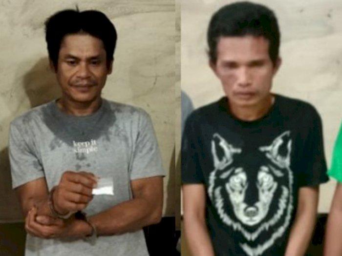 Belum Sempat Transaksi, Dua Pengedar Narkoba di Tanjung Balai Ini Keburu Diciduk Polisi