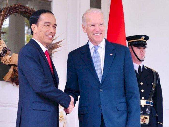 Ucap Selamat Pelantikan Joe Biden Resmi Presiden AS, Jokowi: Untuk Dunia yang Lebih Baik