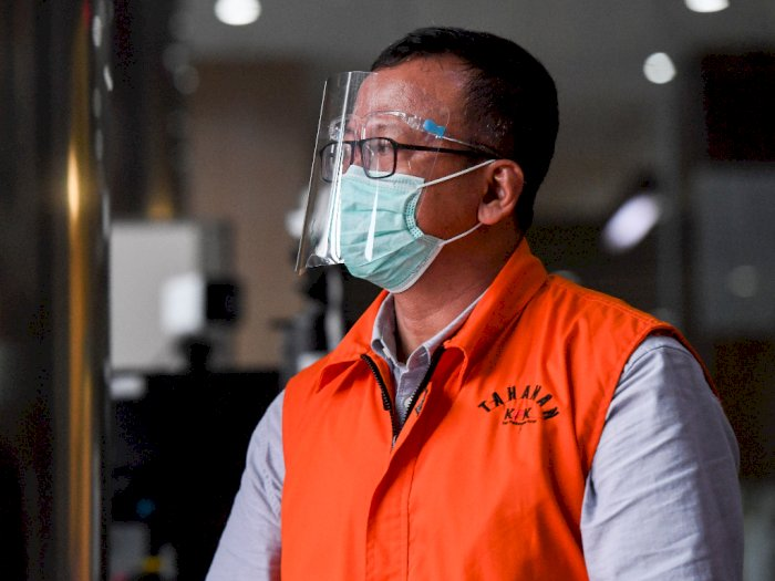 Jadi Penghuni Rutan KPK, Edhy Prabowo Mengeluh Tidak Dapat Bertemu Keluarganya