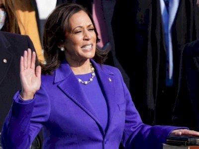 Kamala Harris Resmi Jadi Wakil Presiden AS, Bungkam Sindiran Trump saat Kampanye