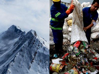 Jaga Lingkungan, Nepal akan Olah Sampah di Gunung Everest Jadi Karya Seni