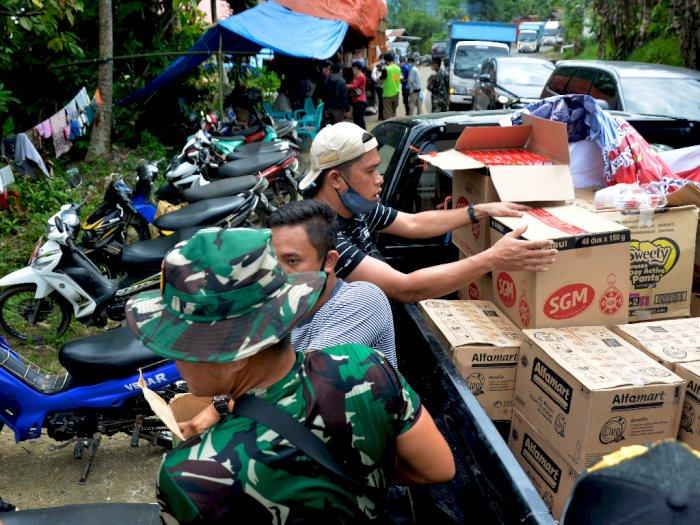 FOTO: Bantuan Logistik Korban Gempa Bumi Sulawesi Barat