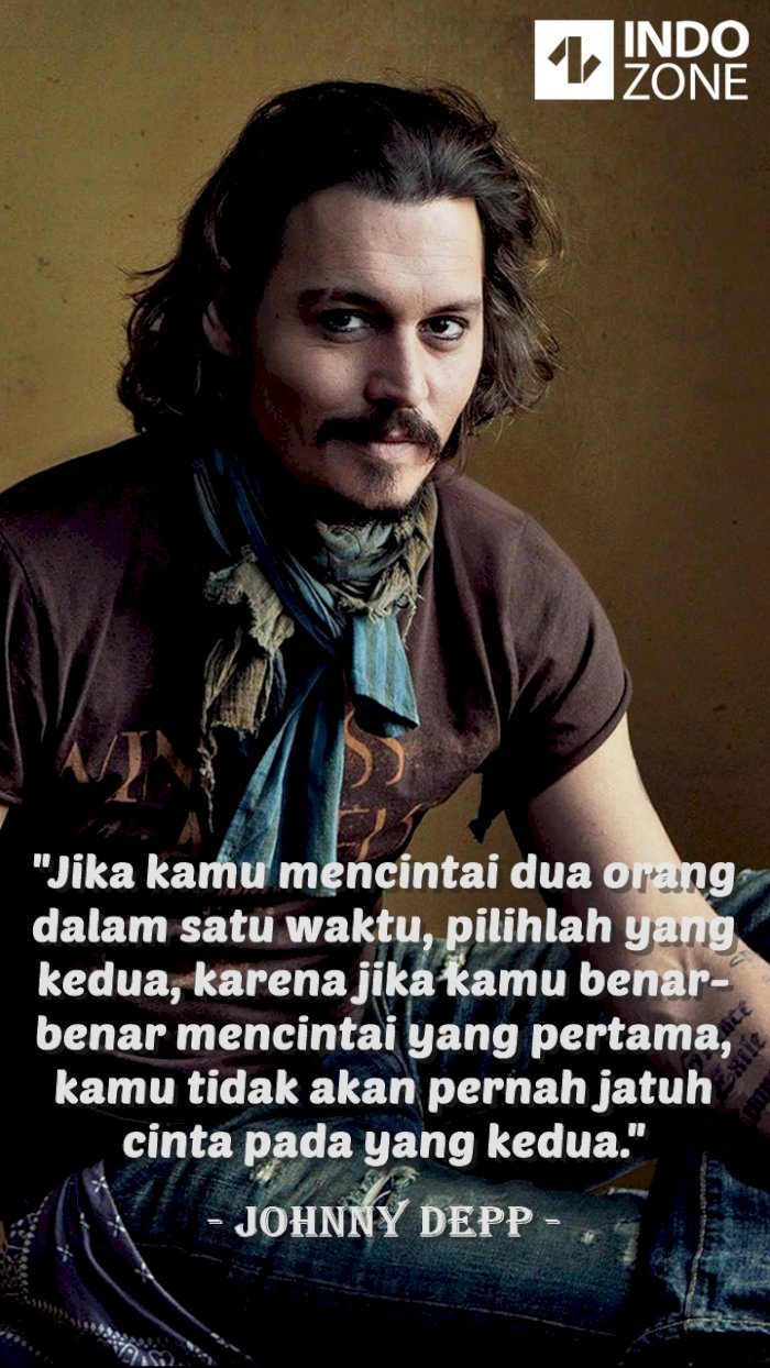 Kutipan (quotes) Johnny Depp