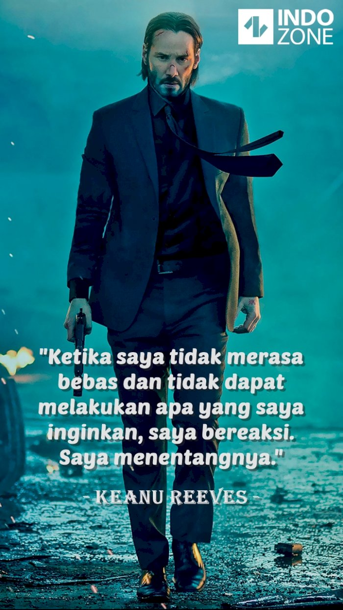 Kutipan (quotes) Keanu Reeves