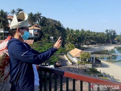 Berkunjung ke Batam, Menparekraf Sandiaga Uno Pantau Protokol Kesehatan dan Pariwisata