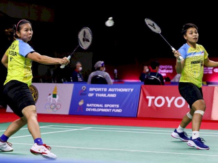 Ganda Putri Greysia/Apriyani Siap Maju ke Perempat Final Thailand Open II