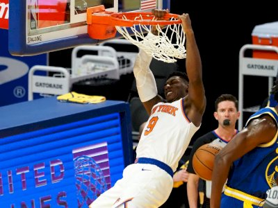 FOTO: New York Knicks vs Golden State Warriors 119-104