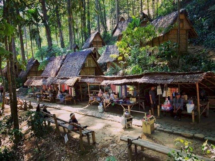 Pemukiman Suku Baduy di Lebak Banten Mulai Dikunjungi Wisatawan Lokal