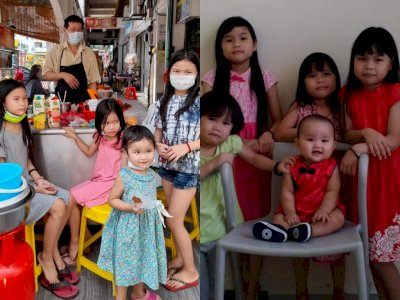 Ibu Dideportasi ke Indonesia & Jualan Ayah Tidak Laku, 5 Anak Ini Sempat Alami Kelaparan