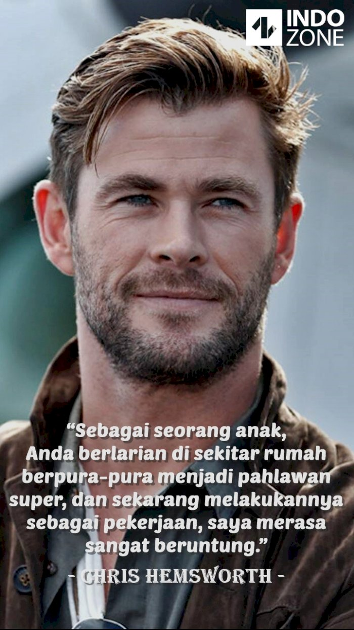 Kutipan (quotes) Chris Hemsworth