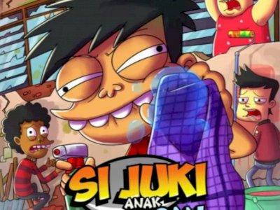 Seri Animasi Indonesia 'Si Juki Anak Kosan' Jadi Pertama Tayang di Disney+ Hotstar