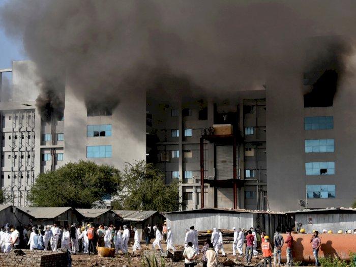 Pabrik Pembuat Vaksin Covid-19 Terbesar di Dunia Kebakaran, 5 Orang Tewas