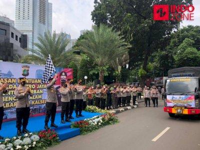 Polda Metro Salurkan Bantuan Korban Bencana Alam di Sulbar dan Kalsel