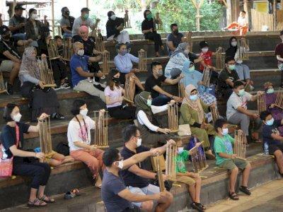 Terkena Dampak Pandemi COVID-19, Saung Angklung Udjo Bandung Terancam Bangkrut