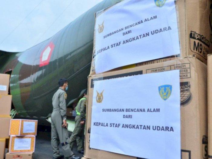 Kasau Kirim Bantuan Untuk Korban Bencana Alam di Kalsel dan Sulbar