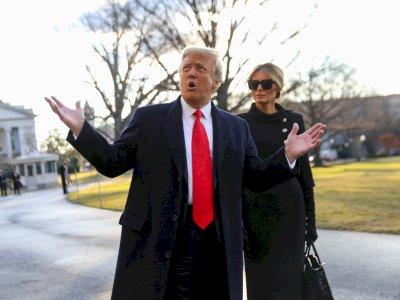 Melania dan Donald Trump Kabarnya Tidur Kamar Terpisah Selama Menjabat Sebagai Presiden