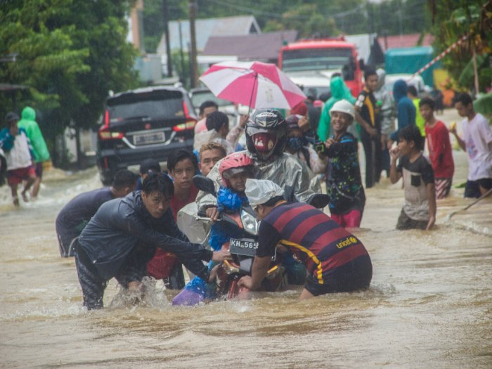 Usut Penyebab Banjir Kalsel, Polri: Ternyata karena Curah Hujan