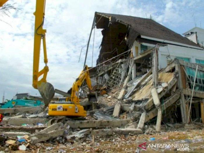 Akibat Gempa Mamuju dan Majene, Negara Alami Kerugian Rp494,28 Miliar