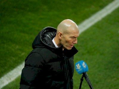 Real Madrid Umumkan Zidane Positif Terpapar COVID-19