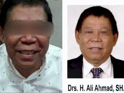 Tampang Mantan Anggota DPRD yang Cabuli Anak Kandung Saat Istri Dirawat karena Covid-19