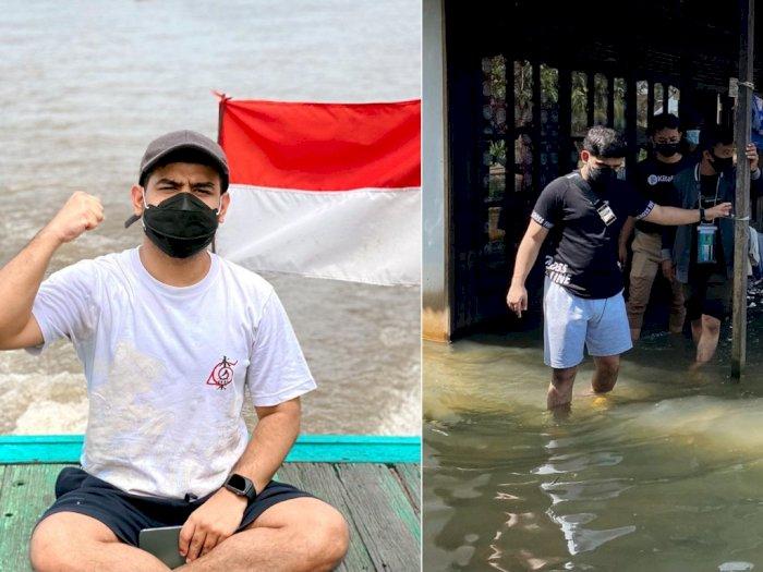 Fadil Jaidi Terenyuh Lihat Kondisi Korban Banjir di Kalsel: Bener-bener Sedih Banget