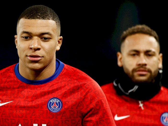 FOTO: Liga Prancis, PSG Menang Telak 4-0 Atas Montpellier
