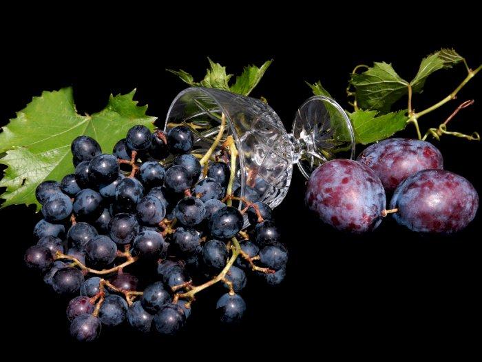 Manfaat Anggur Hitam untuk Kesehatan, Salah Satunya Turunkan Risiko Diabetes