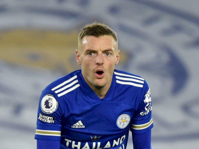 Jamie Vardy akan Absen dari Leicester untuk Jalani Operasi Hernia