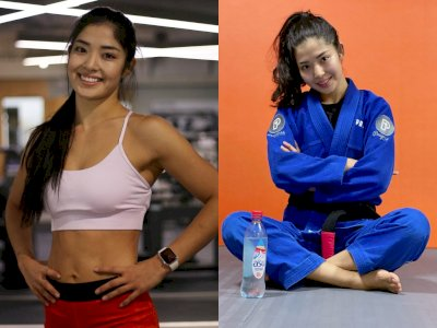 Pesona Moldir Mekenbayeva, Atlet Jiu-Jitsu Wanita Pertama Raih Sabuk Hitam di Kazakhstan