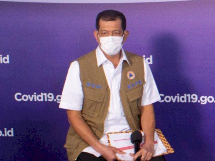 Ketua Satgas Covid-19 Doni Monardo Positif Covid-19