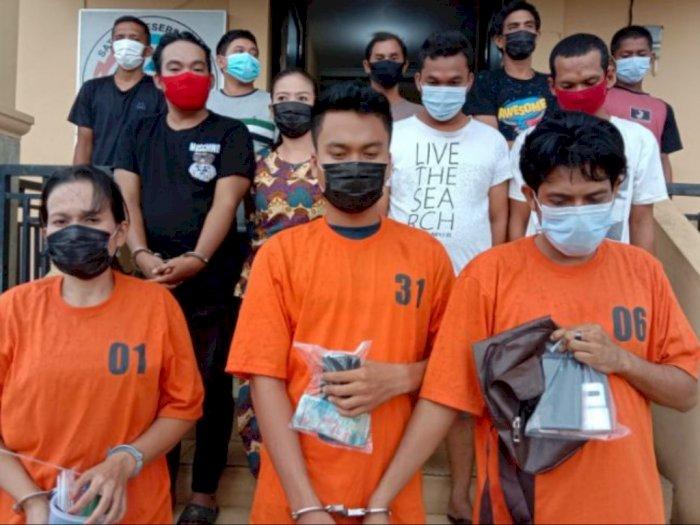 Gerebek Kampung Narkoba di Labuhanbatu, 12 Orang Berhasil Diringkus Polisi