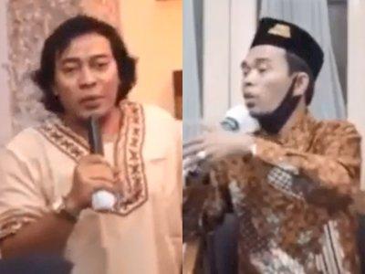 Komedian Komeng Beri Pertanyaan ke Ustadz Abdul Somad, Bikin Seluruh Jamaah Ngakak