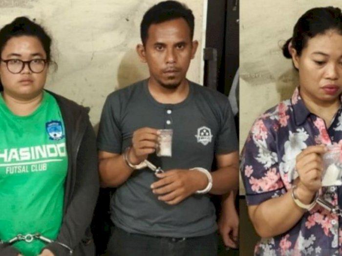Pasutri dan Ipar Jadi Bandar Narkoba, Sekeluarga Ini Diciduk Polisi di Dalam Rumah
