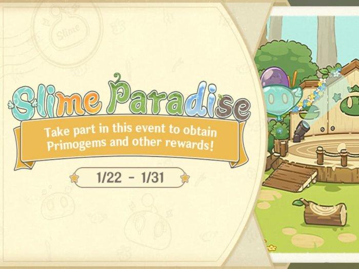 Genshin Impact Hadirkan Event Slime Paradise Dengan Hadiah Primogems Gratis
