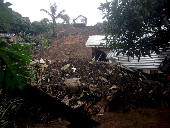 FOTO: Dampak Longsor dan Banjir di Manado