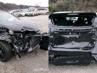 Baru Melaju 1.048 Km, Toyota GR Yaris Ringsek Setelah Kecelakaan