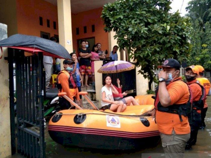 Banjir di Kota Bekasi Disebut Akibat Luapan Kali Sekunder