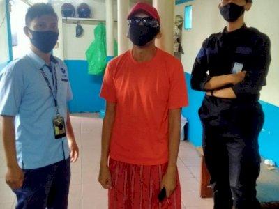 Pencuri Hand Sanitizer di bus TransJakarta yang Viral Berhasil Ditangkap