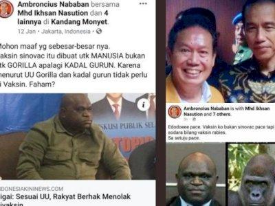 Ambroncius Nababan Rasis ke Natalius Pigai, Gus Umar: Sebagai Orang Batak Saya Mengecam