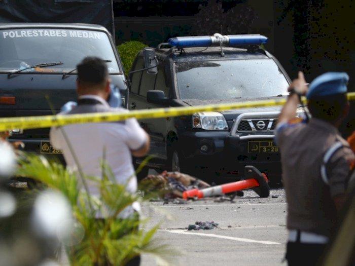 Densus 88 Amankan 5 Terduga Pelaku Teroris, Diduga Terlibat Jaringan Bom Polrestabes Medan