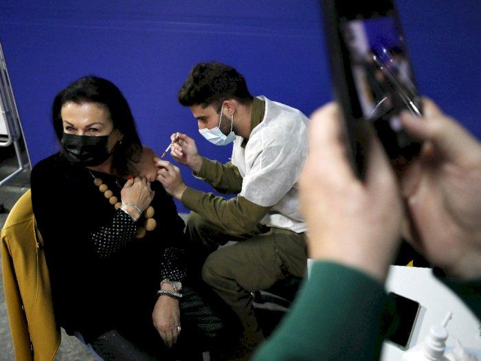 Kasus COVID-19 di Israel Turun Hingga 60 Persen Setelah Dilakukan Vaksinasi