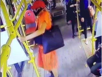 Viral Pencurian Hand Sanitizer di Dalam Bus, Ternyata Pelaku Ngaku untuk Obati Kakinya