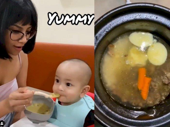 Bagikan Resep Mpasi, Vanessa Angel Dipuji Ibu Idaman
