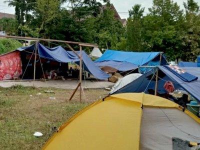 Rumahnya Rusak Berat, Sejumlah Pengungsi di Mamuju Tidak Bisa Pulang